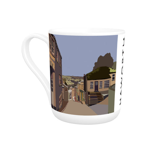 Haworth, Yorkshire Bone China Mug