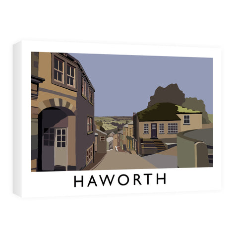 Haworth, Yorkshire Canvas