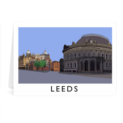 Leeds, Yorkshire Greeting Card 7x5