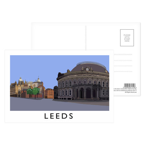 Leeds, Yorkshire Postcard Pack