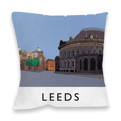 Leeds, Yorkshire Fibre Filled Cushion
