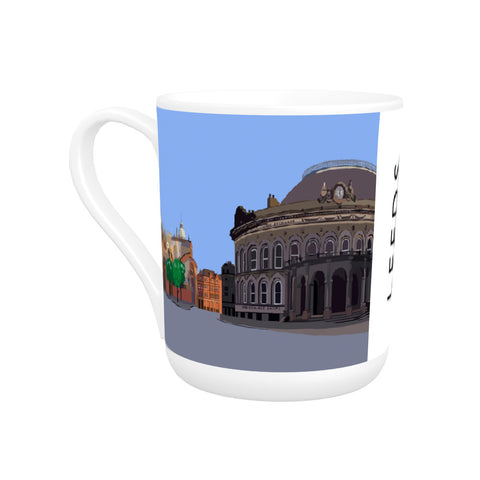 Leeds, Yorkshire Bone China Mug