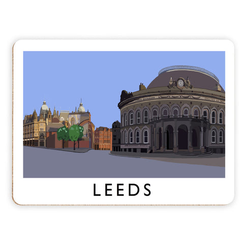 Leeds, Yorkshire Placemat