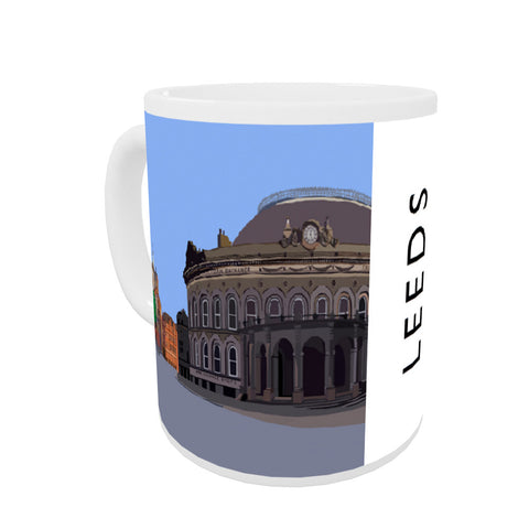 Leeds, Yorkshire Coloured Insert Mug