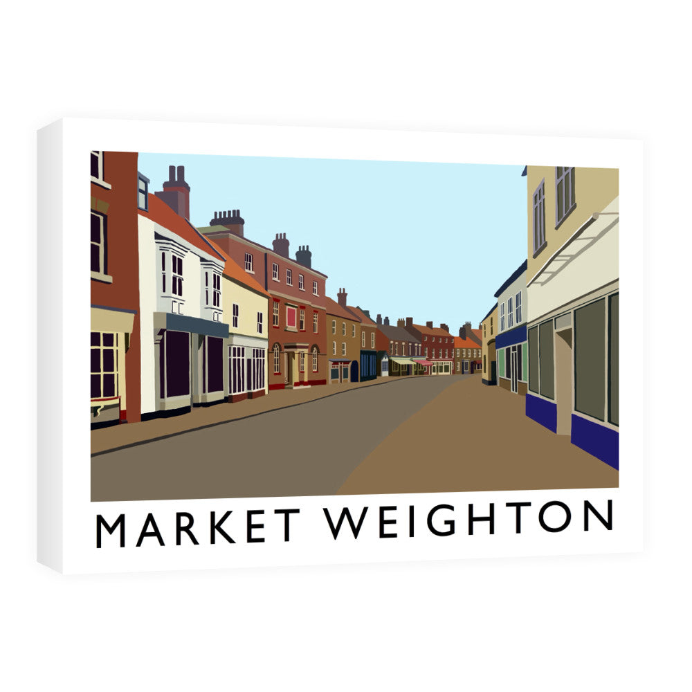 Market Weighton, Yorkshire Canvas