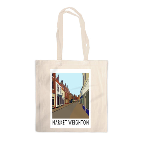 Market Weighton, Yorkshire Canvas Tote Bag