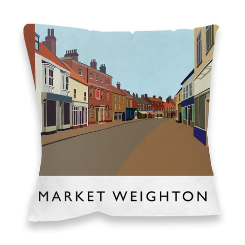 Market Weighton, Yorkshire Fibre Filled Cushion