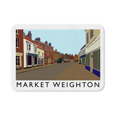 Market Weighton, Yorkshire Mouse Mat