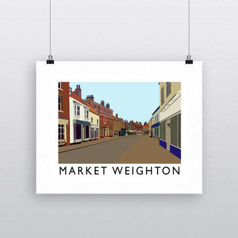 Market Weighton, Yorkshire Fine Art Print