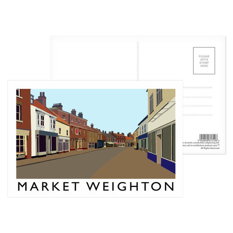 Market Weighton, Yorkshire Postcard Pack