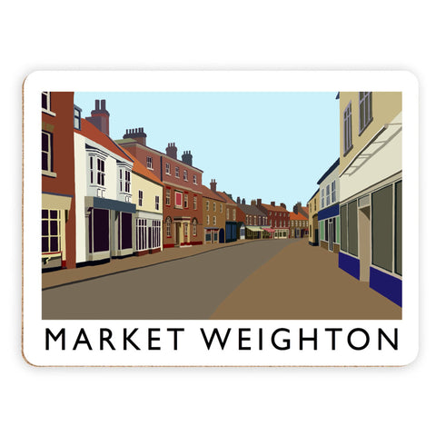 Market Weighton, Yorkshire Placemat