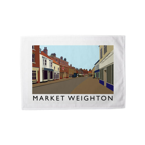 Market Weighton, Yorkshire Tea Towel