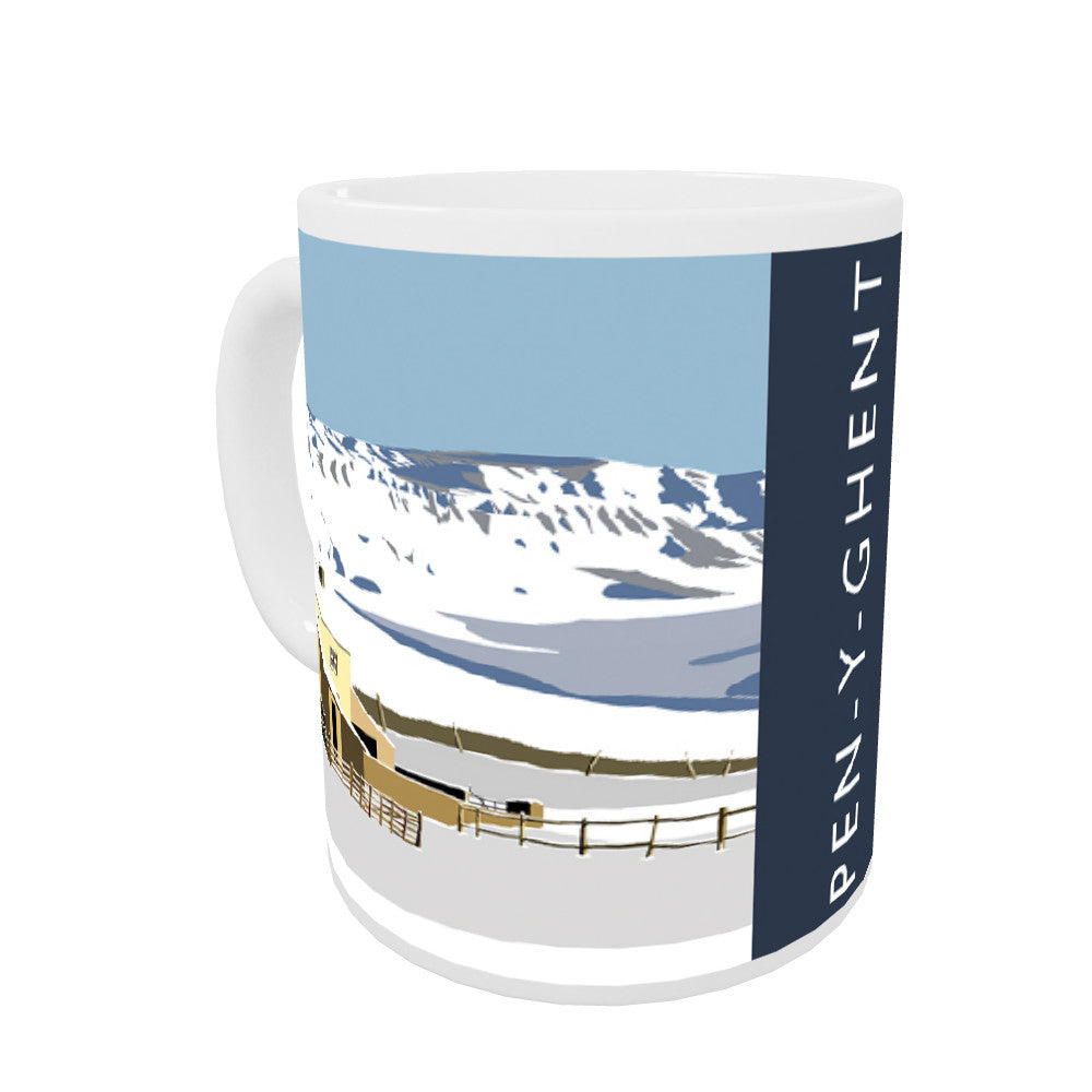 Pen-Y-Ghent, Yorkshire Coloured Insert Mug