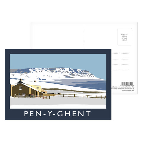 Pen-Y-Ghent, Yorkshire Postcard Pack