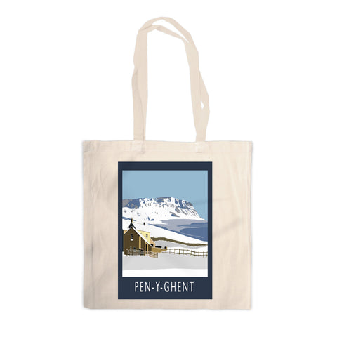Pen-Y-Ghent, Yorkshire Canvas Tote Bag