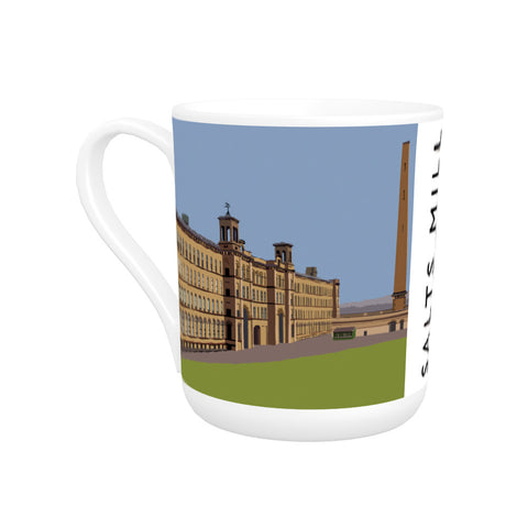 Salts Mill, Saltaire, Yorkshire Bone China Mug