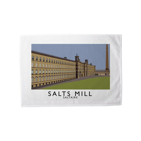 Salts Mill, Saltaire, Yorkshire Tea Towel
