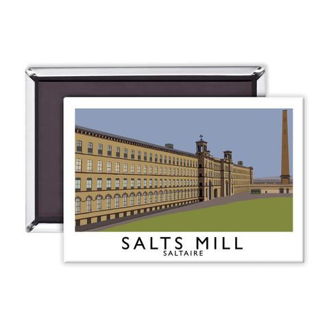 Salts Mill, Saltaire, Yorkshire Magnet