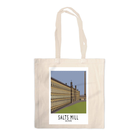 Salts Mill, Saltaire, Yorkshire Canvas Tote Bag