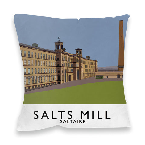 Salts Mill, Saltaire, Yorkshire Fibre Filled Cushion
