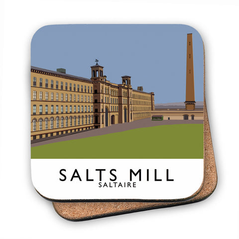 Salts Mill, Saltaire, Yorkshire MDF Coaster