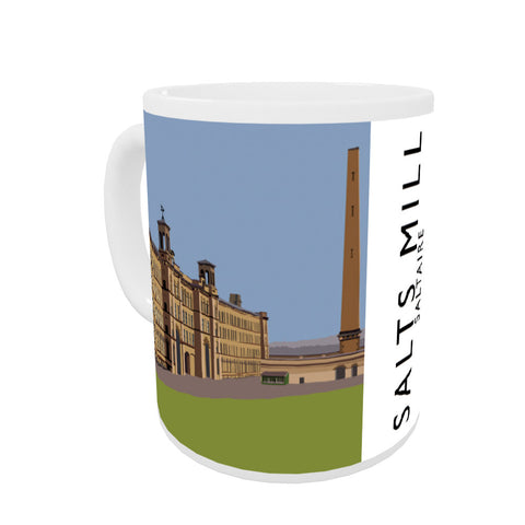 Salts Mill, Saltaire, Yorkshire Coloured Insert Mug