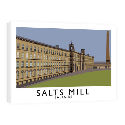Salts Mill, Saltaire, Yorkshire Canvas