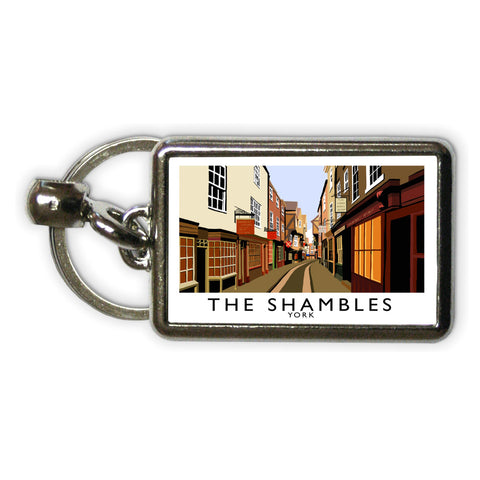 The Shambles, York Metal Keyring
