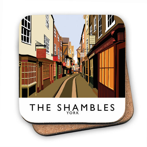 The Shambles, York MDF Coaster
