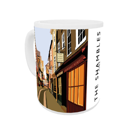 The Shambles, York Coloured Insert Mug