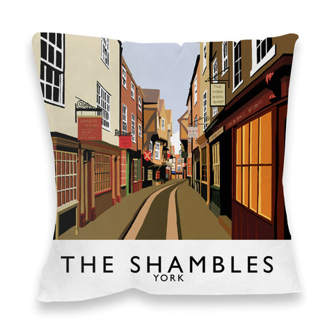 The Shambles, York Fibre Filled Cushion