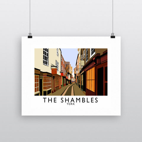 The Shambles, York Fine Art Print