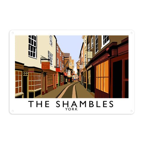 The Shambles, York Metal Sign