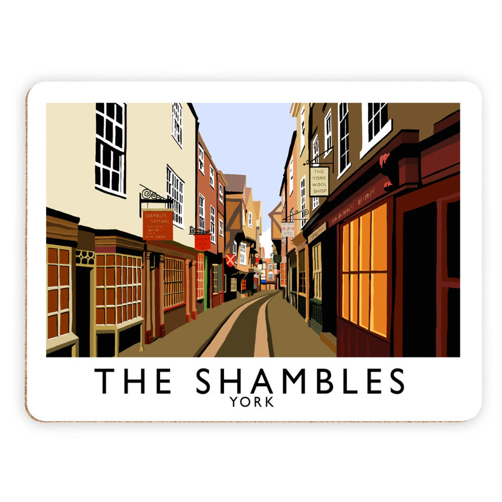 The Shambles, York Placemat