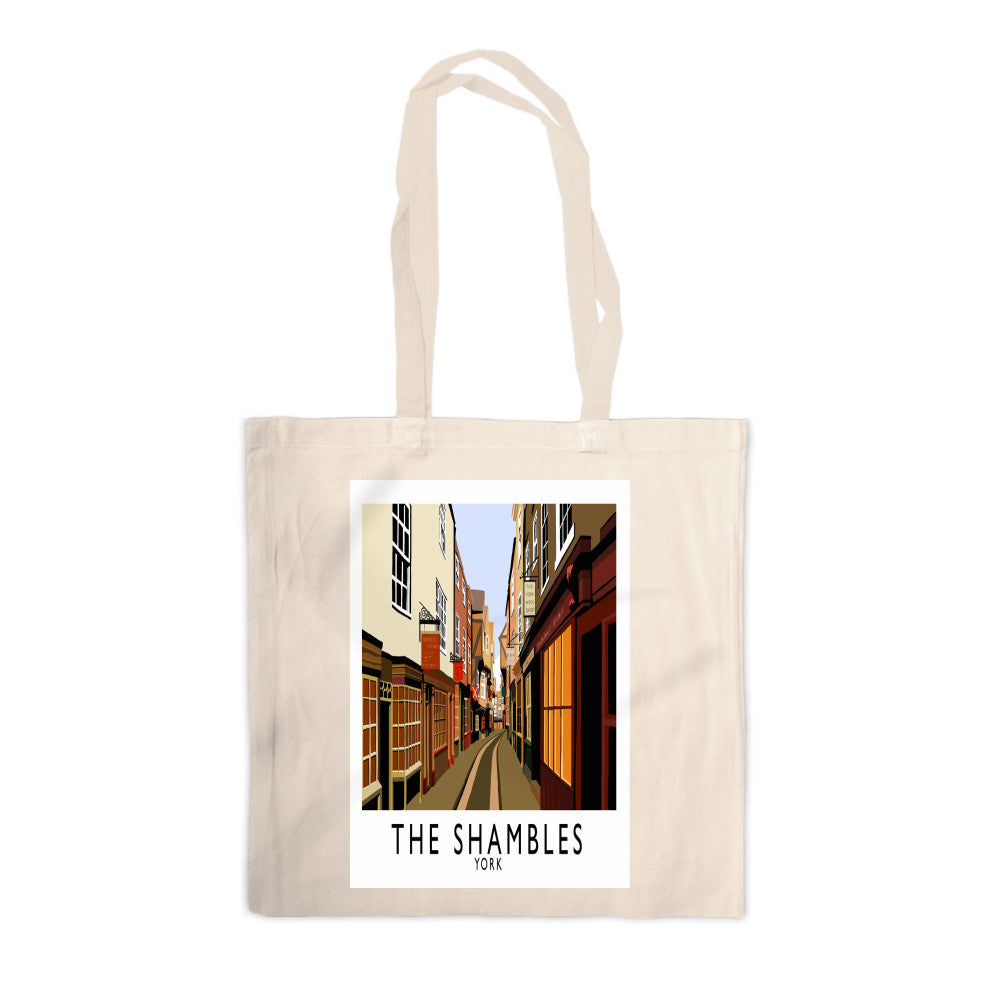 The Shambles, York Canvas Tote Bag