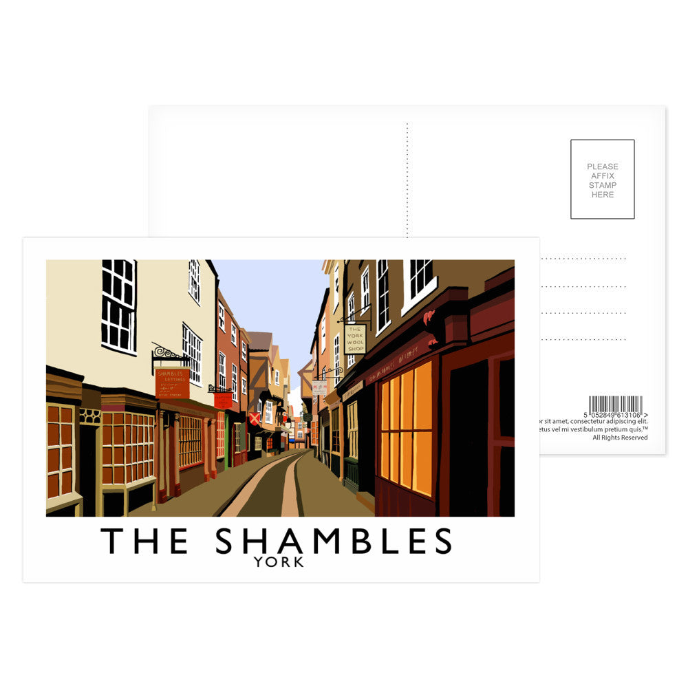The Shambles, York Postcard Pack