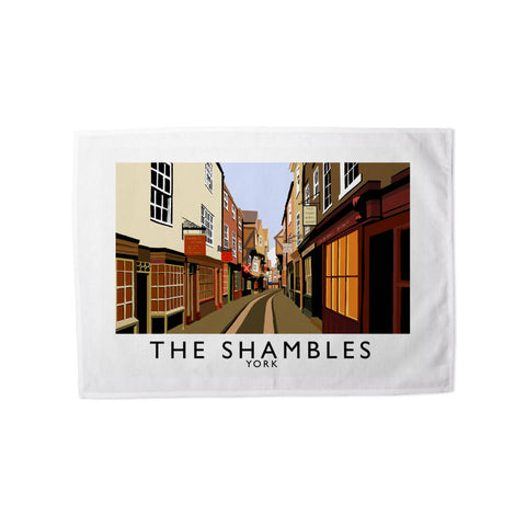 The Shambles, York Tea Towel