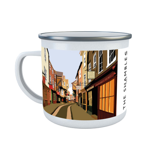 The Shambles, York Enamel Mug