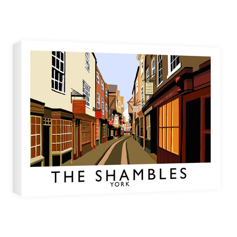 The Shambles, York Canvas