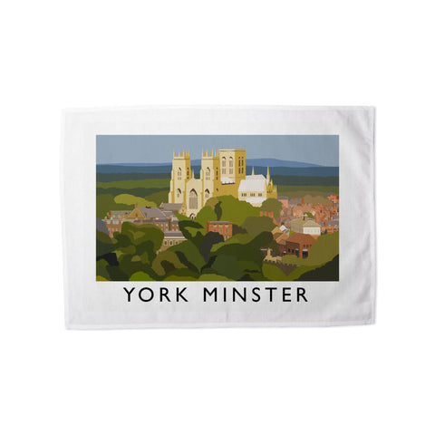 York Minster, York Tea Towel