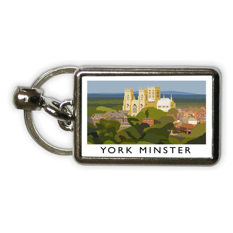 York Minster, York Metal Keyring