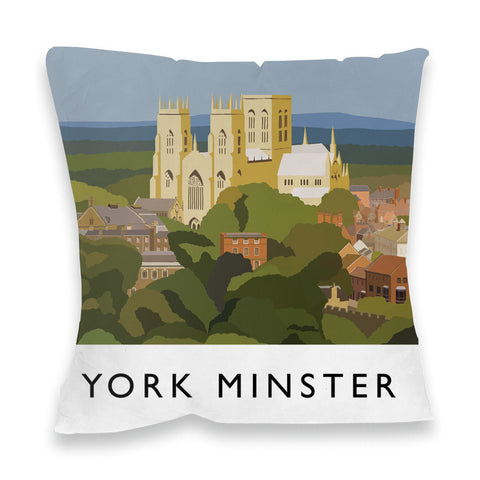 York Minster, York Fibre Filled Cushion