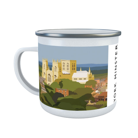 York Minster, York Enamel Mug