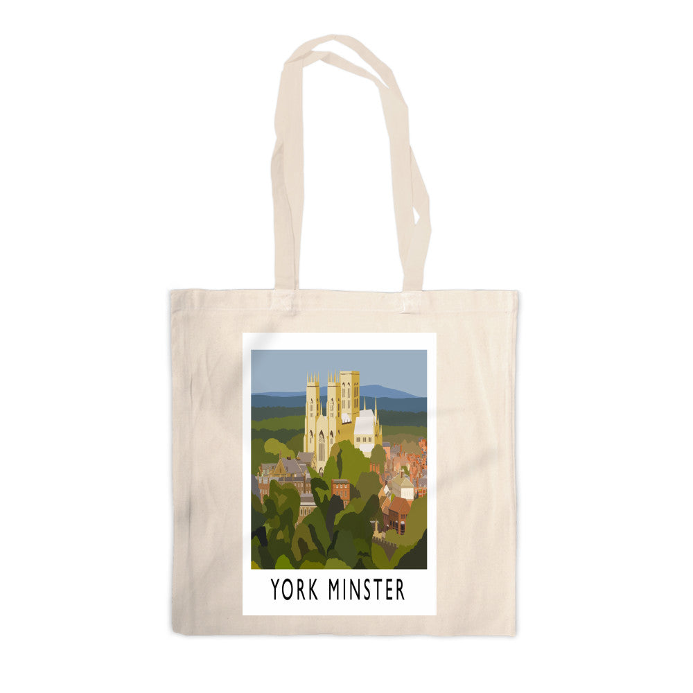 York Minster, York Canvas Tote Bag