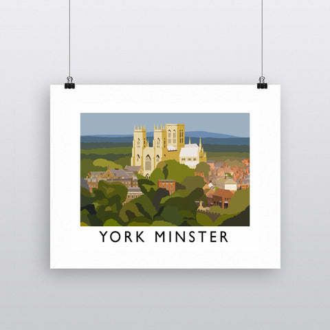York Minster, York Fine Art Print