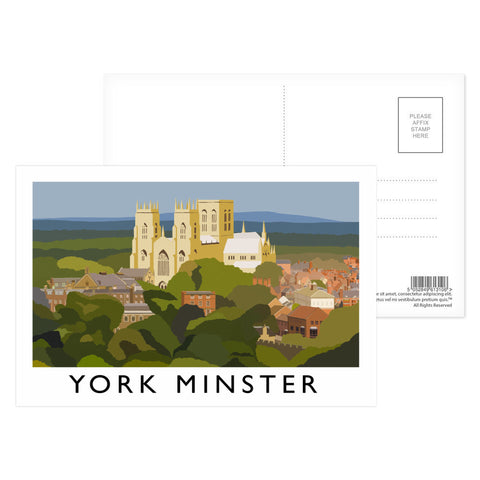 York Minster, York Postcard Pack