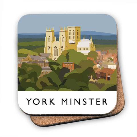 York Minster, York MDF Coaster