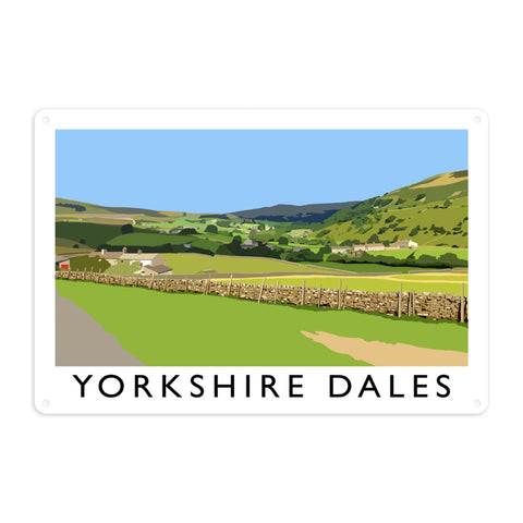 The Yorkshire Dales Metal Sign
