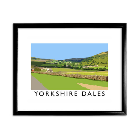 The Yorkshire Dales 11x14 Framed Print (Black)