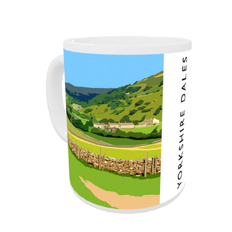 The Yorkshire Dales Coloured Insert Mug